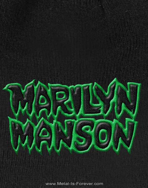MARILYN MANSON (マリリン・マンソン) LOGO 「ロゴ」 ニットキャップ
