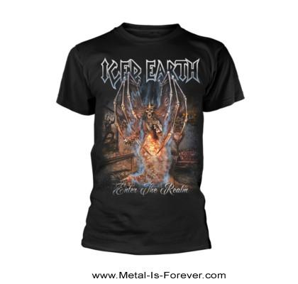 ICED EARTH (アイスド・アース) ENTER THE REALM 「エンター・ザ・レルム」 Tシャツ