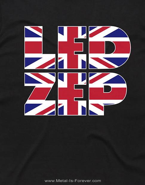 LED ZEPPELIN (レッド・ツェッペリン) UNION JACK TYPE 「ユニオン・ジャック・タイプ」 Tシャツ