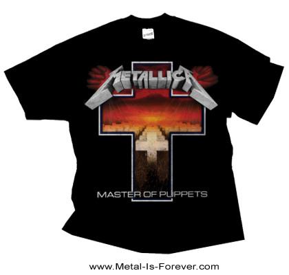 METALLICA -メタリカ- MASTER OF PUPPETS 「メタル・マスター」 クロス Tシャツ