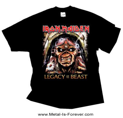 IRON MAIDEN -アイアン・メイデン- LEGACY OF THE BEAST 「ビースト・レガシー」 撃墜王の孤独 Tシャツ