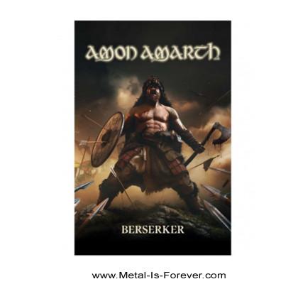 AMON AMARTH -アモン・アマース- BERSERKER 「ベルセルク」 布製ポスター