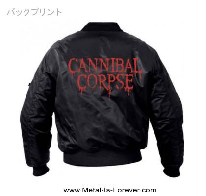 CANNIBAL CORPSE -カンニバル コープス- LOGO 「ロゴ」  フライト・ジャケット