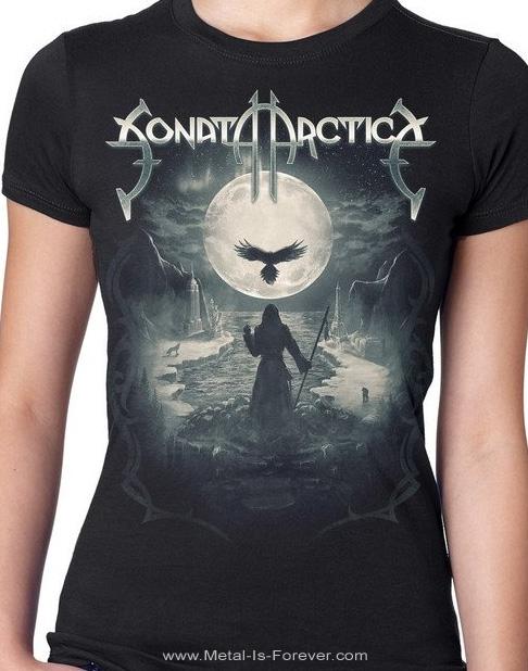 SONATA ARCTICA -ソナタ・アークティカ- RAVEN STILL LIES 「レイヴン・スティル・ライズ」 2019年北米ツアー レディース Tシャツ