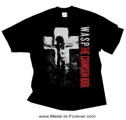 W.A.S.P. -ワスプ- THE CRIMSON IDOL 「クリムゾン・アイドル」 Tシャツ
