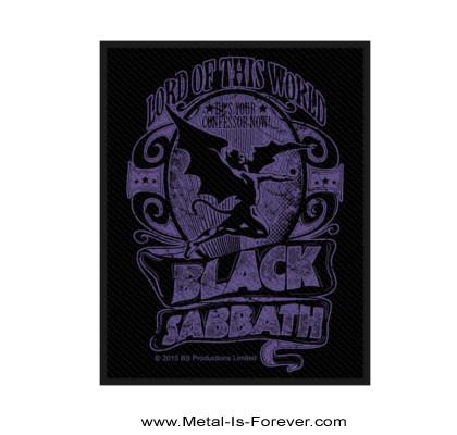 BLACK SABBATH (ブラック・サバス) LORD OF THIS WORLD 「ロード・オブ・ジズ・ワールド」 ワッペン