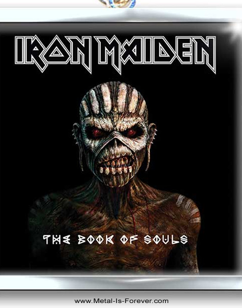 IRON MAIDEN (アイアン・メイデン) THE BOOK OF SOULS「魂の書〜ザ・ブック・オブ・ソウルズ〜」 キーチェーン Ver.2
