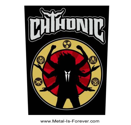 CHTHONIC (ソニック/閃靈樂團) DEITY 「デイティ」 バックパッチ