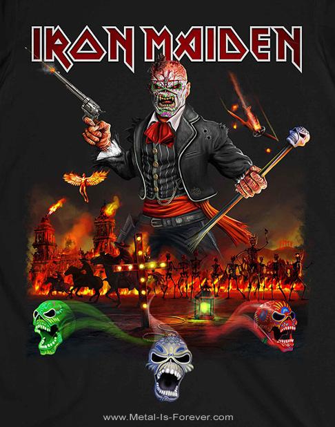 IRON MAIDEN (アイアン・メイデン) NIGHTS OF THE DEAD LEGACY OF THE BEAST: LIVE IN MEXICO CITY 「ナイツ・オブ・ザ・デッド、レガシー・オブ・ザ・ビースト:ライヴ・イン・メキシコシティ」 Tシャツ