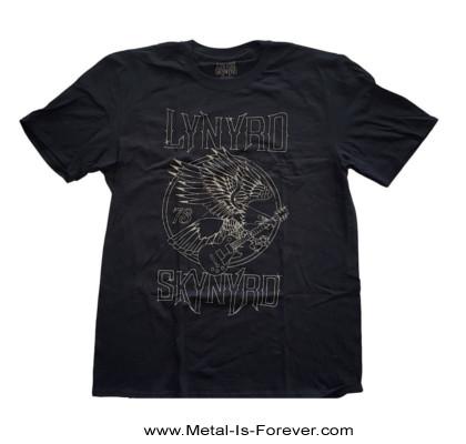 LYNYRD SKYNYRD (レーナード・スキナード) 73 EAGLE GUITAR 「73・イーグル・ギター」 Tシャツ