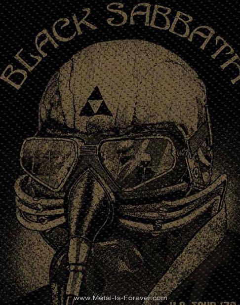 BLACK SABBATH (ブラック・サバス) 1978年 US ツアー ワッペン