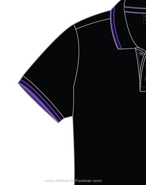 BLACK SABBATH (ブラック・サバス) WAVY LOGO 「ウェービー・ロゴ」 ポロシャツ