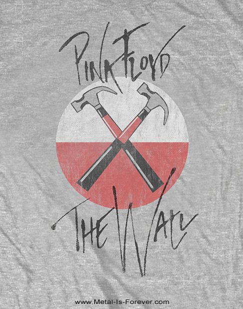 PINK FLOYD (ピンク・フロイド) THE WALL HAMMERS 「ザ・ウォール・ハンマーズ」 Tシャツ(グレー)