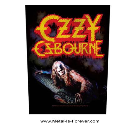 OZZY OSBOURNE (オジー・オズボーン) BARK AT THE MOON 「月に吠える」 バックパッチ