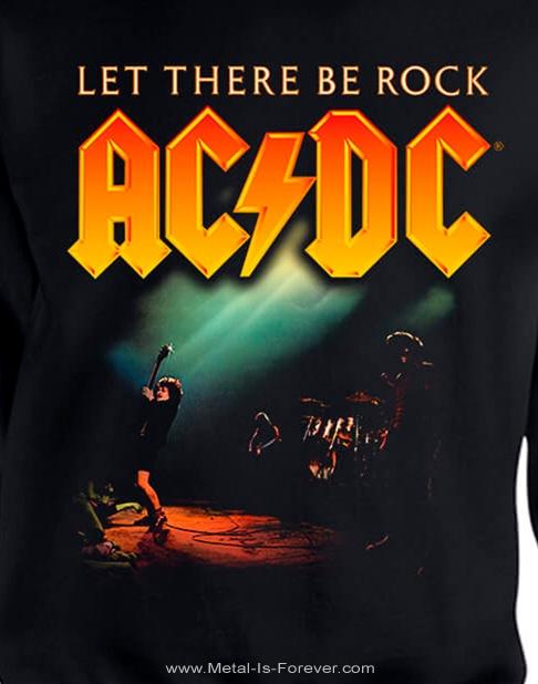 AC/DC (エーシー・ディーシー) LET THERE BE ROCK 「ロック魂」 スウェット