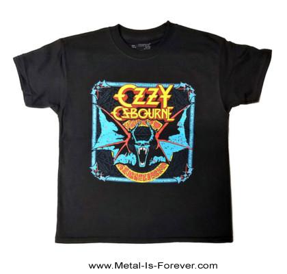 OZZY OSBOURNE (オジー・オズボーン) BAT CIRCLE 「バット・サークル」 キッズTシャツ