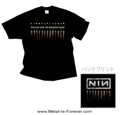 NINE INCH NAILS (ナイン・インチ・ネイルズ) THE DOWNWARD SPIRAL 「ザ・ダウンワード・スパイラル」 Tシャツ