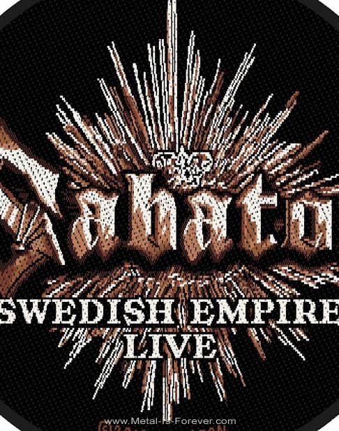 SABATON -サバトン- SWEDISH EMPIRE 「スウェディッシュ・エンパイア」 ワッペン