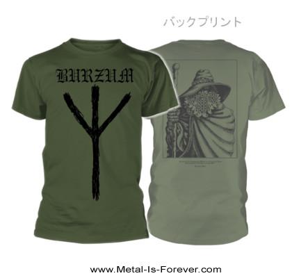 BURZUM (バーズム) RUNE 「ルーン」 Tシャツ(カーキ)