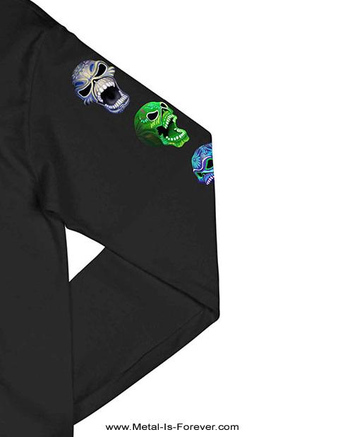 IRON MAIDEN (アイアン・メイデン) NIGHTS OF THE DEAD LEGACY OF THE BEAST: LIVE IN MEXICO CITY 「ナイツ・オブ・ザ・デッド、レガシー・オブ・ザ・ビースト:ライヴ・イン・メキシコシティ」 長袖Tシャツ