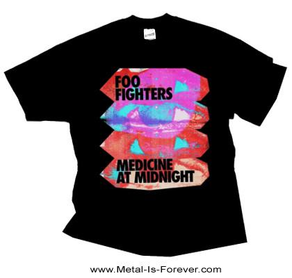 FOO FIGHTERS (フー・ファイターズ) MEDICINE AT MIDNIGHT 「メディスン・アット・ミッドナイト」 Tシャツ