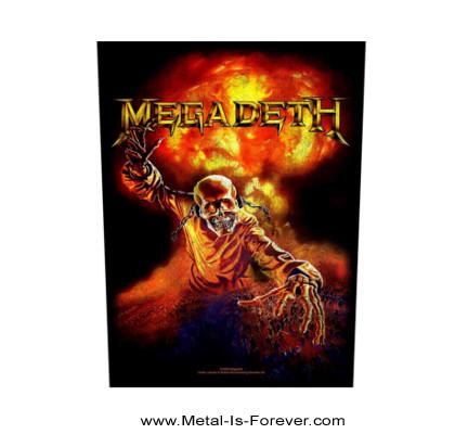 MEGADETH (メガデス) NUCLEAR 「ニュークリア」 バックパッチ