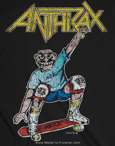 ANTHRAX (アンスラックス) SKATER NOTMAN 「スケーター・ノットマン」 Tシャツ