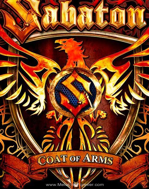 SABATON -サバトン-  COAT OF ARMS 「コート・オブ・アームズ」 バックパッチ