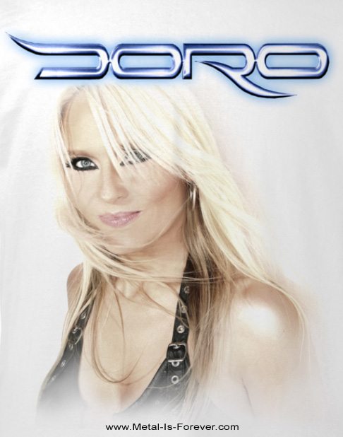 DORO -ドロ- STRONG AND PROUD 「ストロング・アンド・プラウド」 Tシャツ(白)