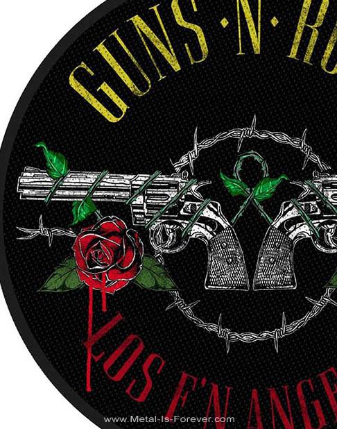 GUNS N' ROSES (ガンズ・アンド・ローゼズ) LOS F'N ANGELES 「ロス・ファッキン・エンゼルス」 ワッペン