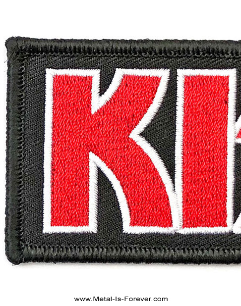 KISS (キッス) RED LOGO 「レッド・ロゴ」 ワッペン