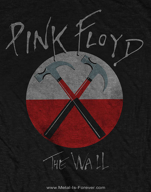 PINK FLOYD (ピンク・フロイド) THE WALL HAMMERS 「ザ・ウォール・ハンマーズ」 Tシャツ