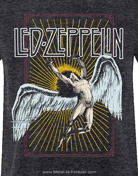 LED ZEPPELIN (レッド・ツェッペリン) ICARUS 「イカロス」 Tシャツ(ヘザー・グレー)