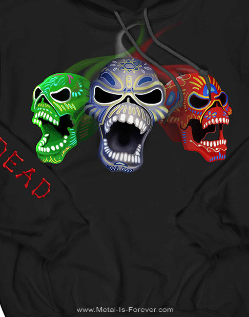IRON MAIDEN (アイアン・メイデン) NIGHTS OF THE DEAD LEGACY OF THE BEAST: LIVE IN MEXICO CITY 「ナイツ・オブ・ザ・デッド、レガシー・オブ・ザ・ビースト:ライヴ・イン・メキシコシティ」 パーカー