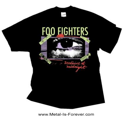 FOO FIGHTERS (フー・ファイターズ) MEDICINE AT MIDNIGHT TAPED 「メディスン・アット・ミッドナイト・テープ」 Tシャツ