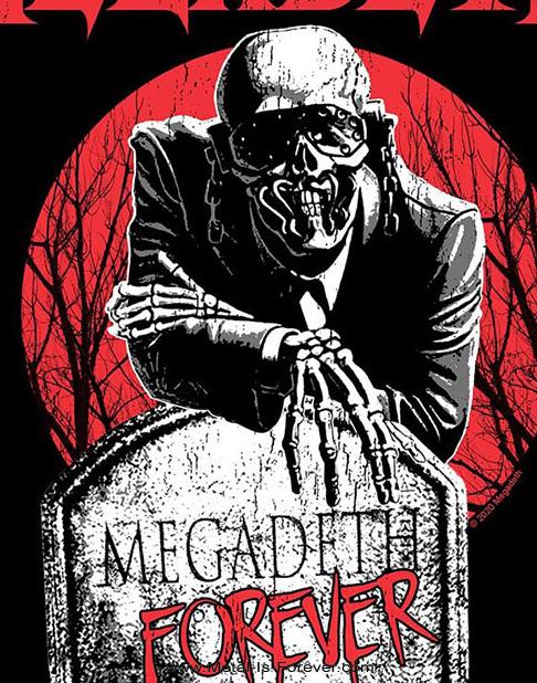 MEGADETH (メガデス) TOMBSTONE 「トゥームストーン」 バックパッチ