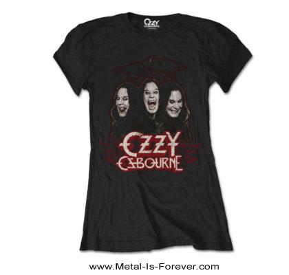 OZZY OSBOURNE -オジー・オズボーン- CROWS & BARS 「クロウ・アンド・バー」 レディースTシャツ