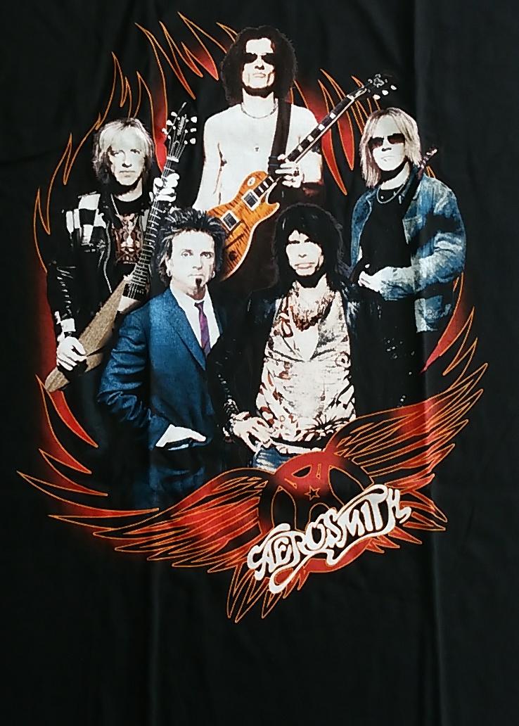 【在庫有り商品】AEROSMITH -エアロスミス- WORLD TOUR 「ワールド・ツアー」 Tシャツ XLサイズ