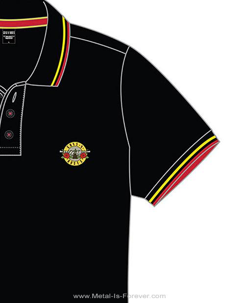 GUNS N' ROSES (ガンズ・アンド・ローゼズ) CLASSIC LOGO 「クラシック・ロゴ」 ポロシャツ
