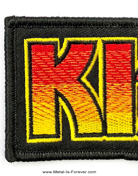 KISS (キッス) CLASSIC LOGO 「クラシック・ロゴ」 ワッペン