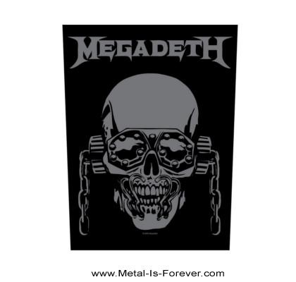 MEGADETH (メガデス) VIC RATTLEHEAD 「ヴィック・ラトルヘッド」 バックパッチ