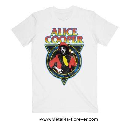 ALICE COOPER (アリス・クーパー) SNAKESKIN 「スネークスキン」 Tシャツ(白)