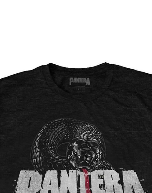 PANTERA (パンテラ) SNAKE LOGO 「スネーク・ロゴ」 Tシャツ