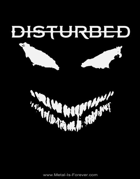 DISTURBED -ディスターブド- SCARY FACE 「スケアリー・フェイス」 Tシャツ
