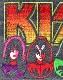 KISS (キッス) FACES & ICONS 「フェイス・アンド・アイコン」 ワッペン