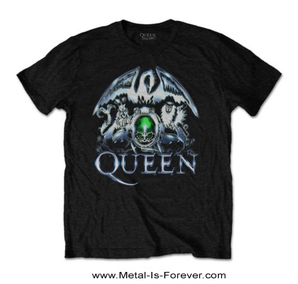 QUEEN (クイーン) METAL CREST 「メタル・クレスト」 Tシャツ
