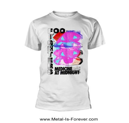 FOO FIGHTERS (フー・ファイターズ) MEDICINE AT MIDNIGHT 「メディスン・アット・ミッドナイト」 Tシャツ(白)