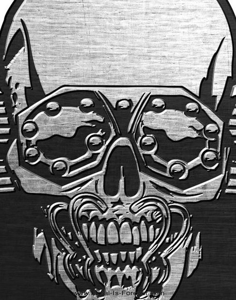 MEGADETH (メガデス) VIC RATTLEHEAD 「ヴィック・ラトルヘッド」 ピンバッジ