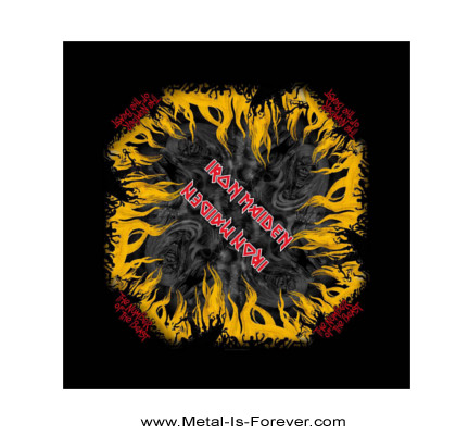 IRON MAIDEN (アイアン・メイデン) THE NUMBER OF THE BEAST 「魔力の刻印」 バンダナ