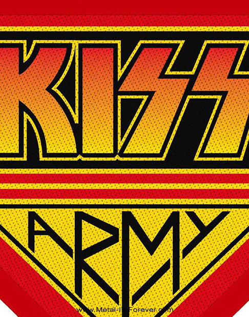 KISS (キッス) KISS ARMY 「キッス・アーミー」 ワッペン